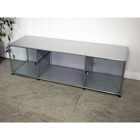 usm haller usm haller m bel lowboard bzw tv sideboard. Black Bedroom Furniture Sets. Home Design Ideas