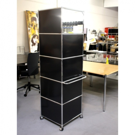 usm haller usm haller m bel kaufen garderobe 1 feld 50 cm breit 5 felder je 35 cm hoch. Black Bedroom Furniture Sets. Home Design Ideas