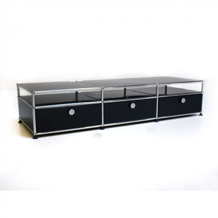usm haller lowboard tv sideboard mit ablage bei resale. Black Bedroom Furniture Sets. Home Design Ideas