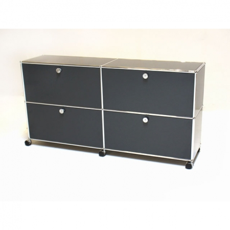 usm haller b rom bel kaufen sideboard mit 4 felder auf. Black Bedroom Furniture Sets. Home Design Ideas