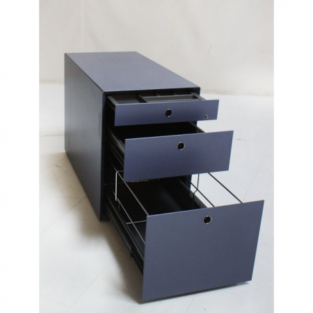 fantoni b rom bel rollcontainer rollcontainer mit h ngeregister in blau bei resale. Black Bedroom Furniture Sets. Home Design Ideas