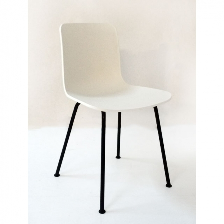 vitra b rom bel g nstig hal tube plastic side chair by jasper morrison bei resale. Black Bedroom Furniture Sets. Home Design Ideas