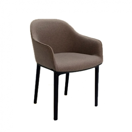 vitra softshell chair in fossil bezugsmaterial cosy bei resale. Black Bedroom Furniture Sets. Home Design Ideas
