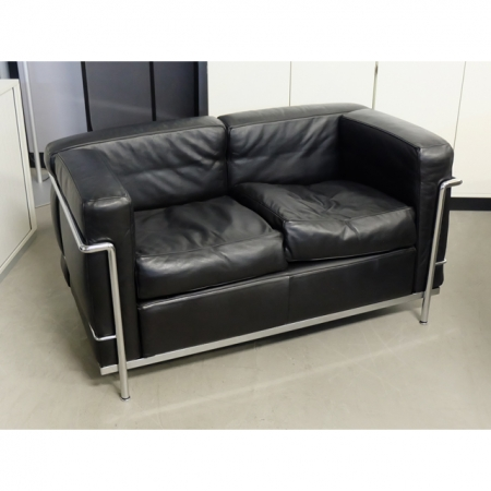 Diverse 2er Sofa Leder Schwarz Bei Resale International De